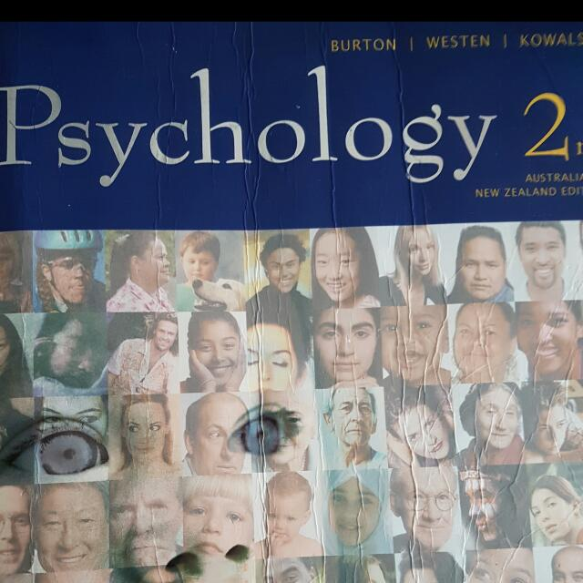 Psychology Book (Burton, Westen, Kowalski)