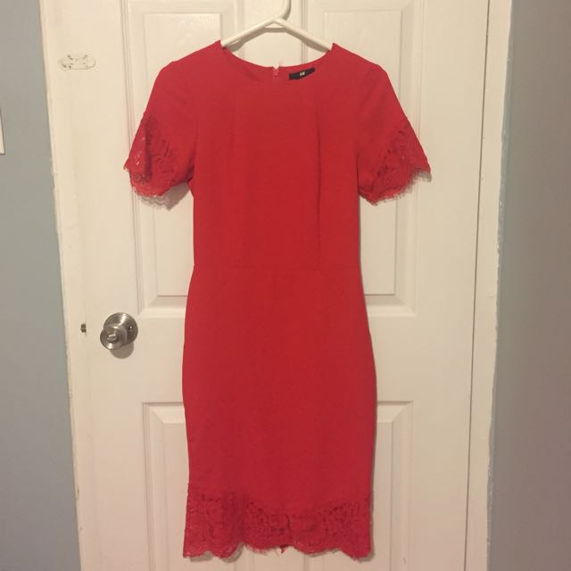 Red H&M Dress