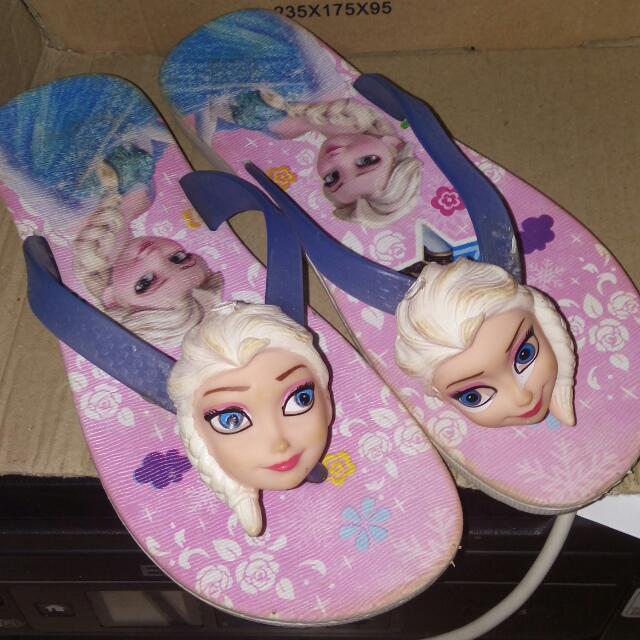Sandal Jepit Frozen Anak
