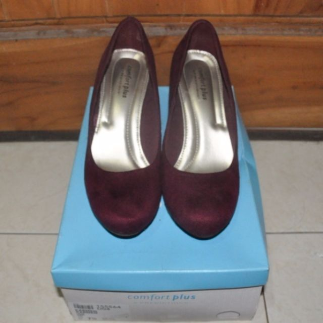 Sepatu Heels Maroon (NEW)