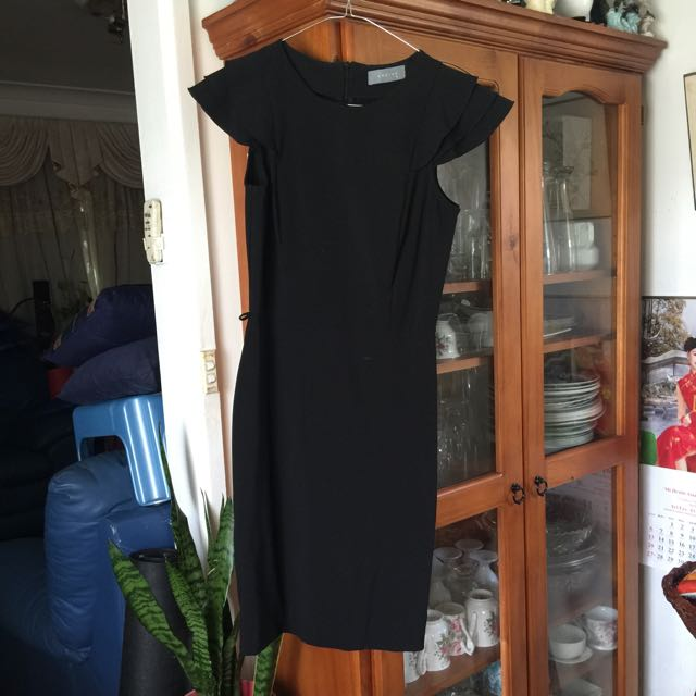 Sheike Black Dress