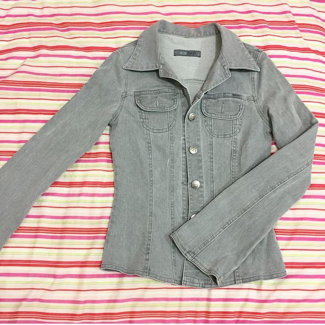 Size 6 Grey Denim Jacket