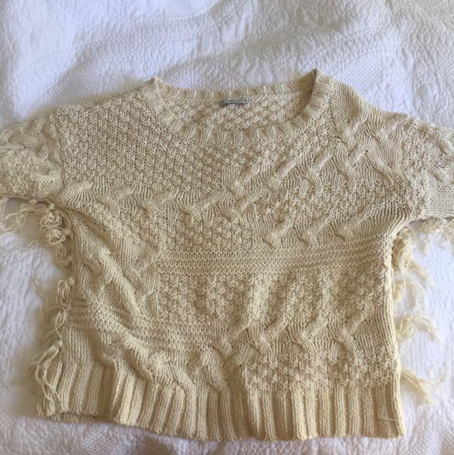 Tassel Zara knit