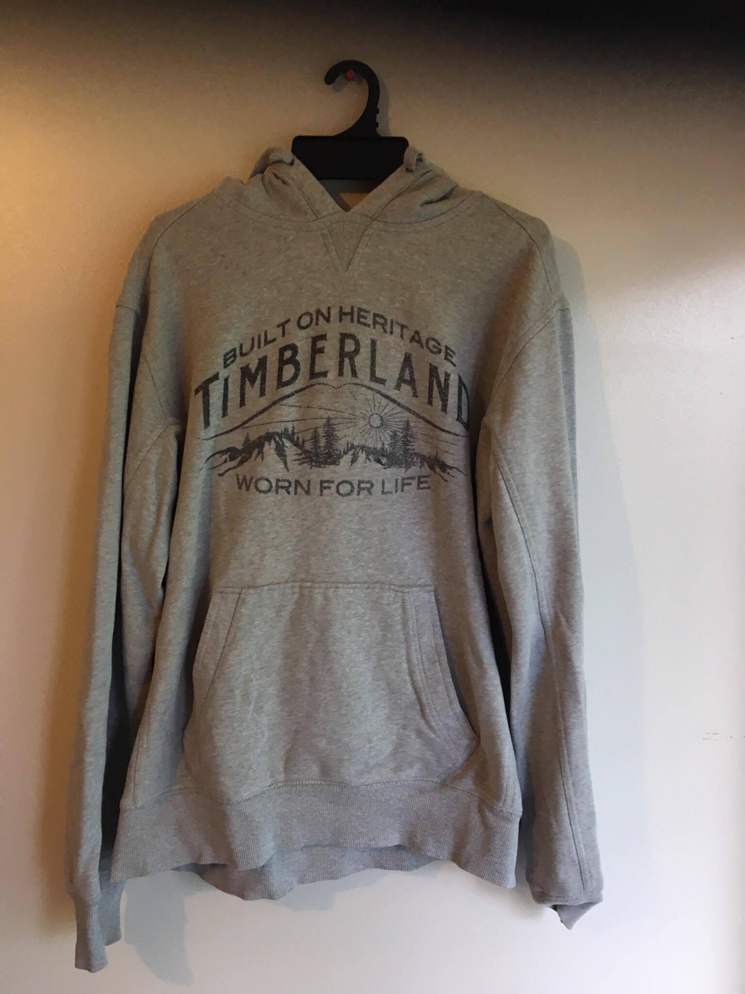 Timberland hoodie/ Grey
