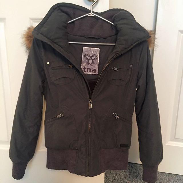 Aritzia TNA Bomber Winter Coat / Jacket