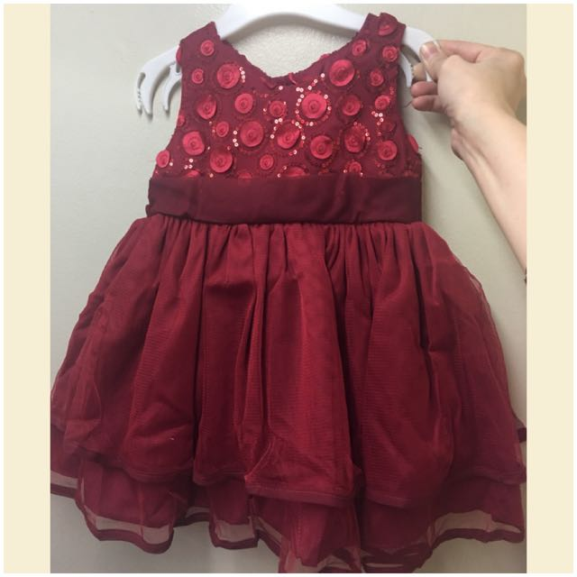 Twilo Maroon Dress