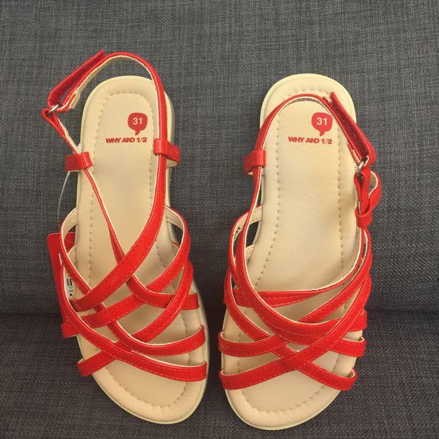 Why&1/2女童涼鞋