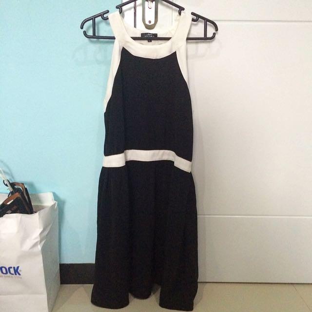 ZALORA Strappy Back Dress