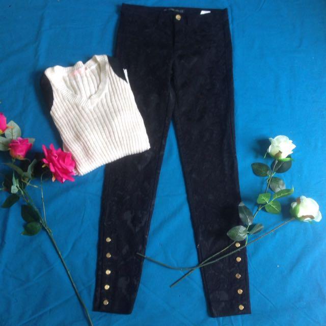 Zara Pants And Sweater
