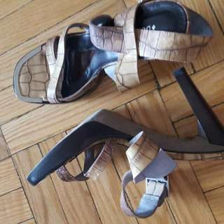 Leather Strappy Size 7