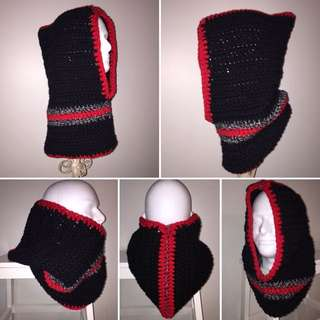 Unisex Hood With Cowl - Hooded Cowl