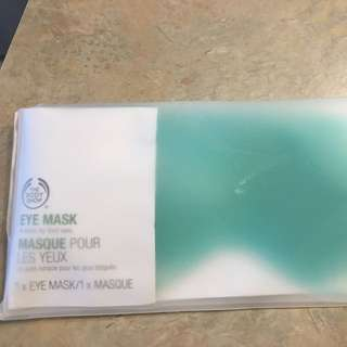 BNIB BODY SHOP EYE MASK