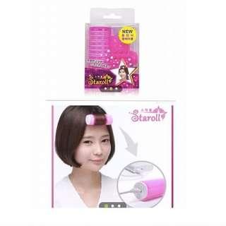 韓國 Starroll 攜帶型 加熱瀏海髮捲