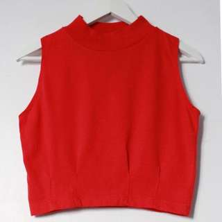 Vintage Cherry Stix Lmtd Crop Top