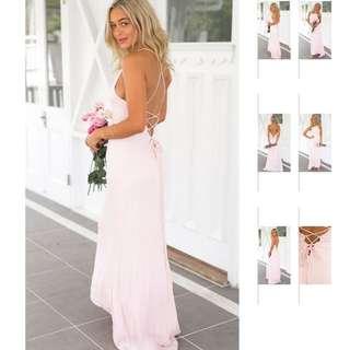 Formal Blush Pink Dress
