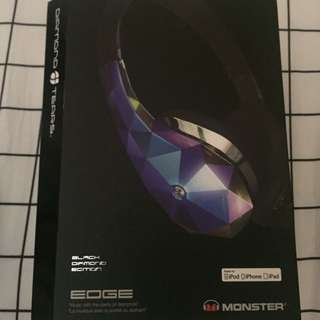 MONSTER DIAMOND TEARS - BLACK DIAMOND EDITION HEADPHONES