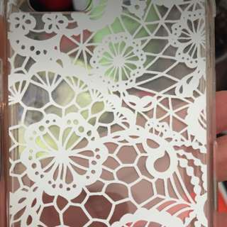 iPhone 6 White Lace Floral case