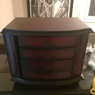 Brown Jewelry Storage