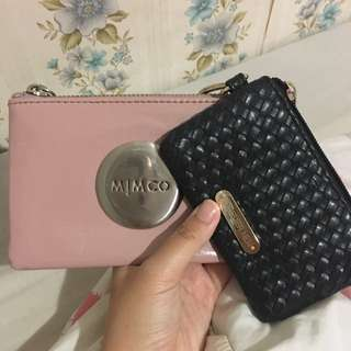 Mimco Pouch + Forever New pouch