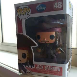 Jack Sparrow POP DISNEY Figurine