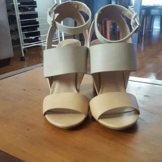 Forever New Block Heels Size 39
