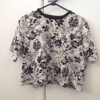 Lulu and Rose floral box tee