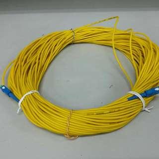 New Optic Fibre Cable 50m