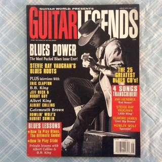 Guitar Magazine SRV 1