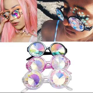 Kaleidoscope Holographic Glasses