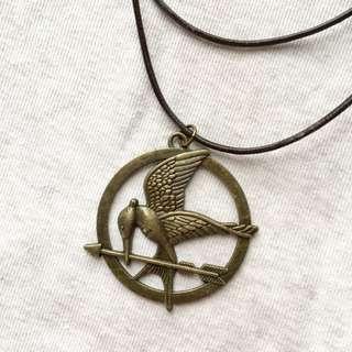 Hunger Games Mockingjay Symbol Necklace