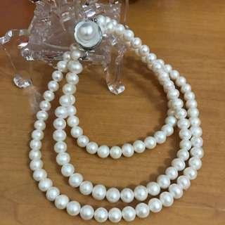 天然大珍珠項鍊