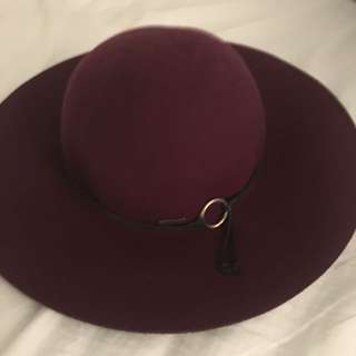 Ox Blood Hat