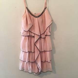 Valley girl Ruffle Dress