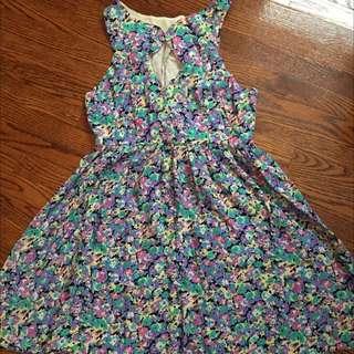 Cute Summer Flower Dress