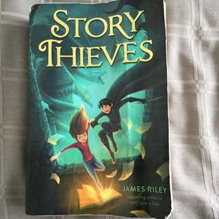 Story Thieves By James Riley / River Of Ink