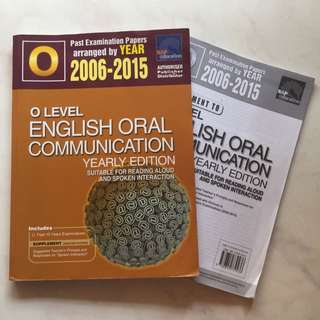 O LEVEL ENGLISH ORAL COMMUNICATION BOOK