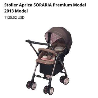 Baby Stroller Aprica (used)