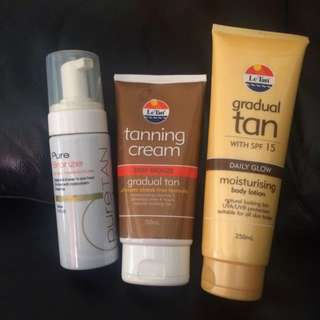 Fake Tans Bundle