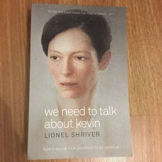 We Need To Talk About Kevin (novel)