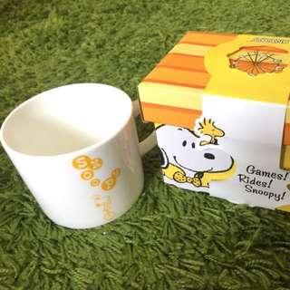 史努比Snoopy 湯杯 黃色領結款