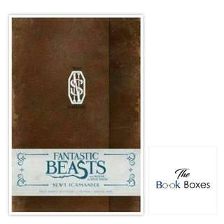 Fantastic Beasts And Where To Find Them: Newt Scamander Ruled Journal
