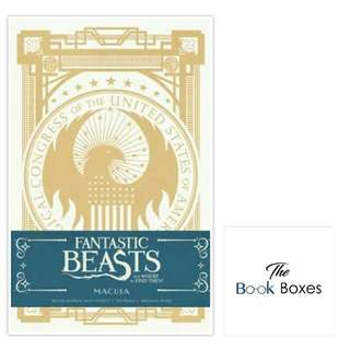 Fantastic Beasts And Where To Find Them: Macusa Ruled Journal