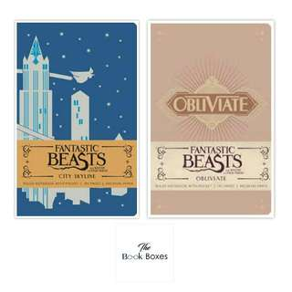 Fantastic Beast And Where To Find Them: Ruled Notebook