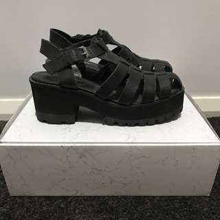 Windsor Smith Platform Sandals Size 6.5