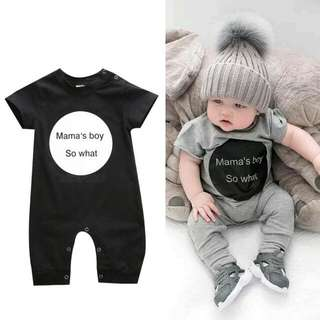 New black Baby Kids Romper