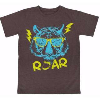 """Roar"" Cool Tiger Graphic Tee"