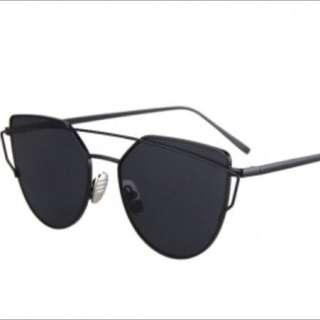 All Black Sunglasses