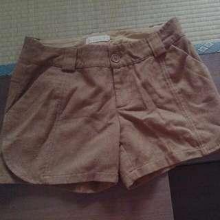 Brown Winter Shorts