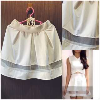 White Skirt (Tailored)