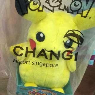 [sold] Pikachu  Plush Changi Airport